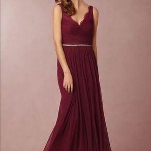 Anthropoligie BHlDN Hitherto Fluer Dress Size 16